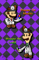 Paper Doctor Bros. by GSVProductions