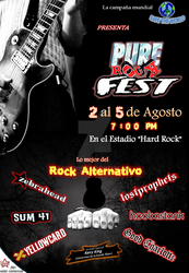 Pure Rock Fest! by ciclope188