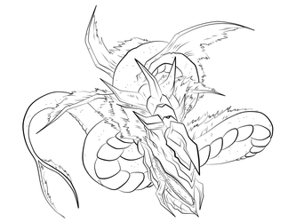 Leviathan Request Lineart by l3xxybaby
