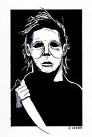 Michael Myers by SumtimesIplaytheFool