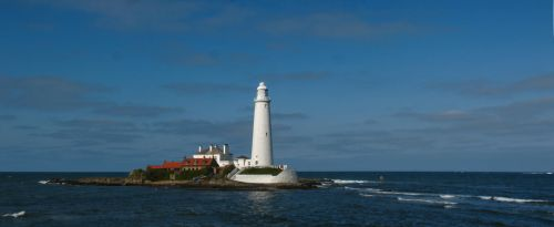 St. Marys Lighthouse Whitley Bay by Ever-Winter-Dreams