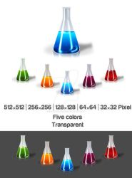Erlenmeyer Flask by isfahangraphic