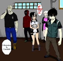 Blood lad colorisation by cmoididi