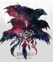 Murder of crows by shimhaq98