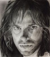 Pencil drawing of Kili by chaseroflight