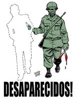 The Missing by Latuff2