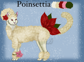 AFRO CAT ADOPT: Poinsettia [Closed] by ChocolateQuill