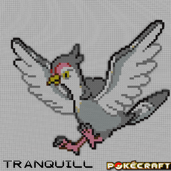 Pokecraft Tranquill by PkmnMc