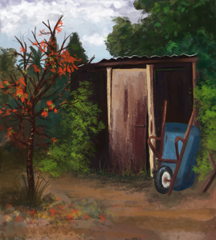 Shed by Linwail