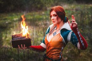 Triss (Witcher 3) (5) by VirdaSeitr