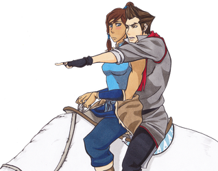 That Way Korra by RebirthOfExistence