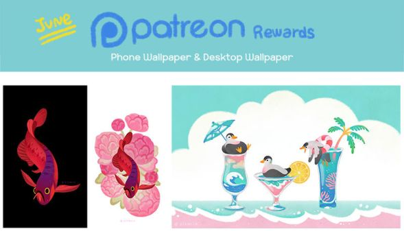 June wallpapers preview by pikaole