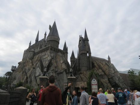 hogwarts . hogsmeade village harry potter ride by Sceptre63