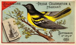 Vintage Baltimore - Oriole Pageant by Yesterdays-Paper