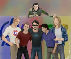 Avengers Assemble by Tenshi-Inverse