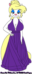 Minerva's Purple Gown by tpirman1982