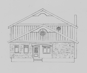 Exterior Elevation by bagtop