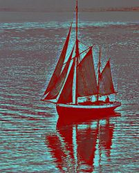 Ship in Sail by AlberichPotter