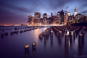 The magic lights of New York by BrunoCHATARD