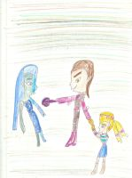 Loki shows Odyis who her mother really is by Kelseyalicia