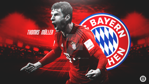 Thomas Muller Wallpaper by LastSurvivorY2J
