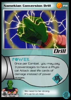 Namekian Conversion Drill - DBZ United by OniGamemaster