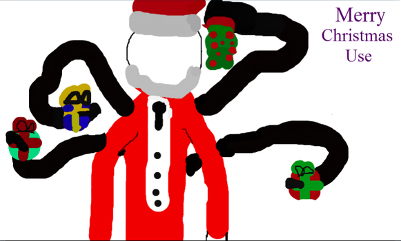 a Slender Christmas by Destroyah93
