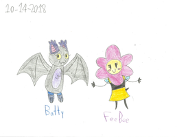 UNKY - Non-LEGO Batty And FeeBee by worldofcaitlyn