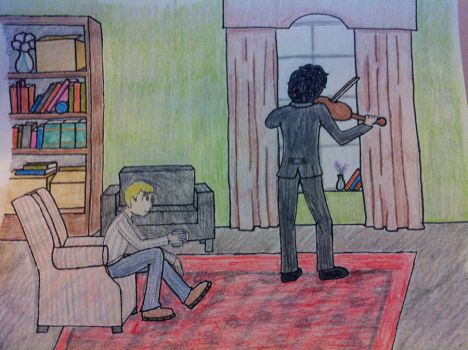 Sherlock and John: Request by remanth by RohirricTimeLord