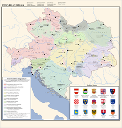 Danubian Union: Linguistic Communities by moerby08