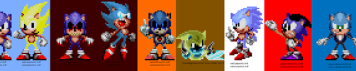 Classic Sonic Model Pack Idea by russellsterlingdyer