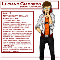 DR: Luciano 'Luci' Giagordo by MightyMaki