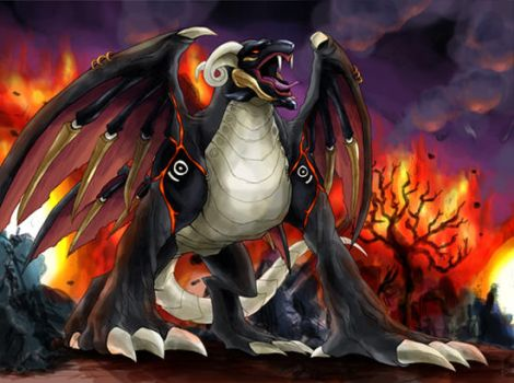 Chaos Wyvern by Yontanto