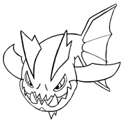 Carvanha Lineart