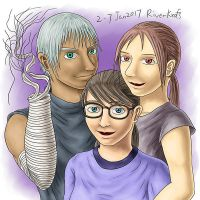 Gamma, Sandy and Tabitha by RiverKpocc