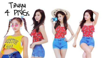 TWICE PNG Pack Tzuyu {Summer Nights Album} by soshistars