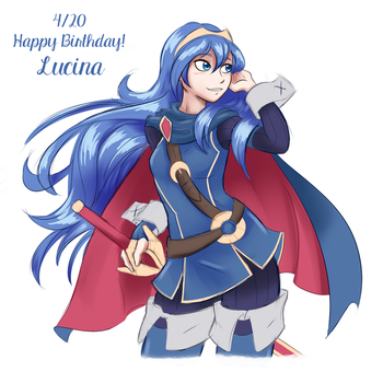 Lucina B-day Sketch by Ambris