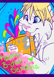 HAPPY B-DAY CANDYBAR by Bangle