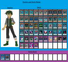 Duelist and Deck - Derek Young by MarioFanProductions
