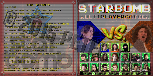 Starbomb Multiplayercation Front by Terrific21