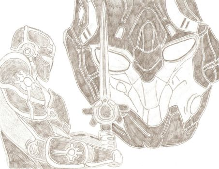 Tribes Ascend Drawing by ThePyzu