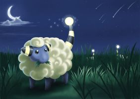 Mareep by Trinamon