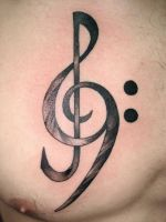 treble bass clef by NelsonMandingo