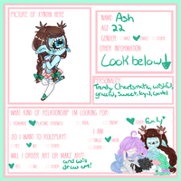 {Form} Ash's Relationships by LadyWhinesAlot