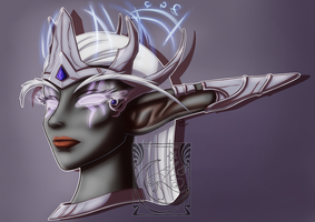 Fan Art - Nightborne by LadyRosse
