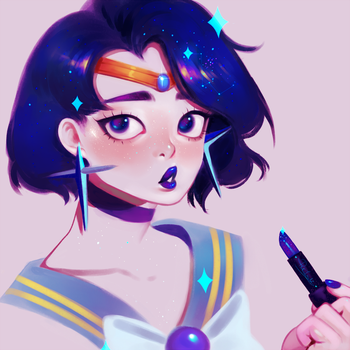 Sailor Mercury by pinkincubi
