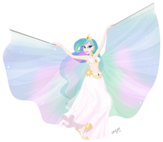 Equestrian Dancer: Princess Celestia by ZellyKat