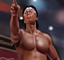 Bolo Yeung by lianit