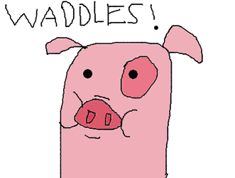 Waddles! by Bordercollie15