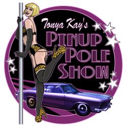 Tonya Kay's Pin-Up Pole Show by OilCanDrive